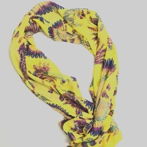 Accessories - Scarf  FEATHER DESIGN Polyester Multicolor